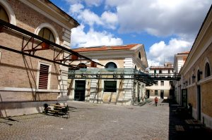 The old slaughterhouse of Rome - renovation work in progress